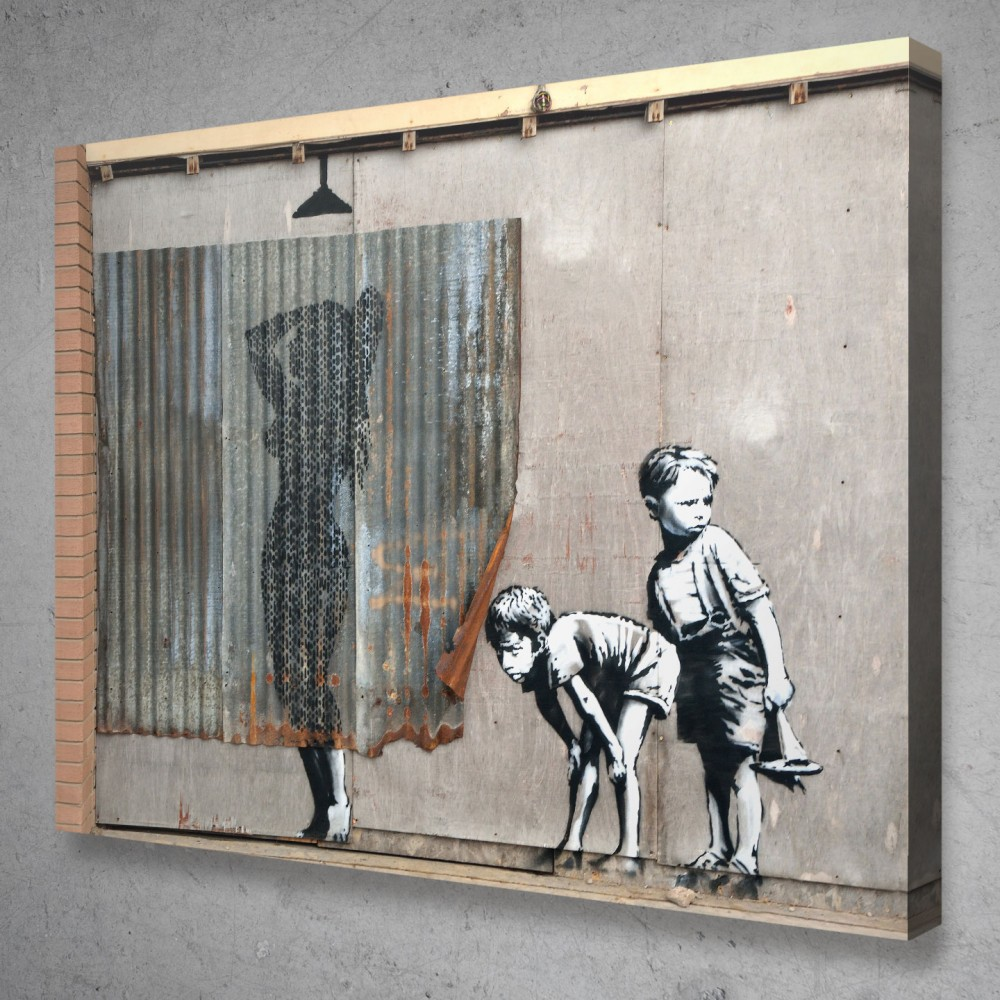 Shower Banksy Street Art