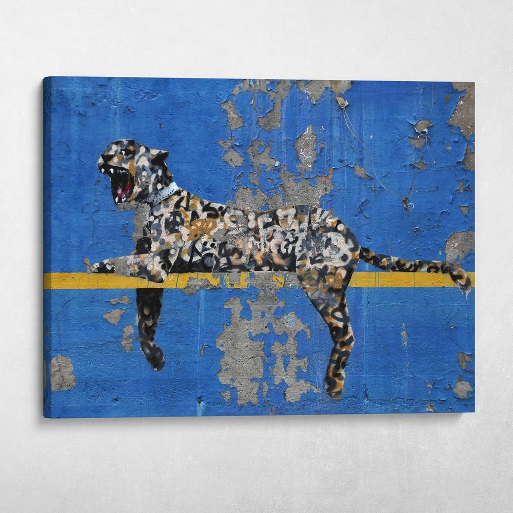 Concrete Jungle Banksy Bronx Zoo Street Art