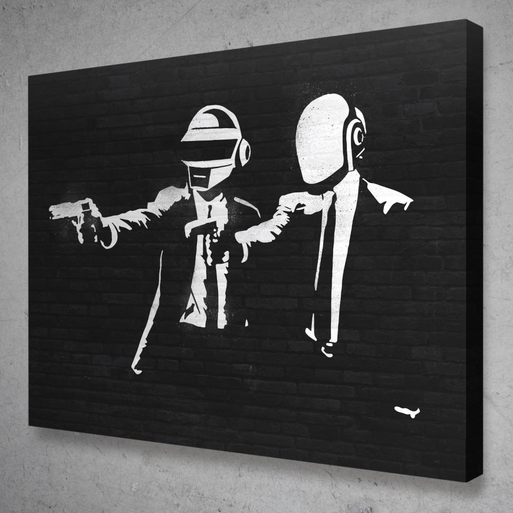 Daft Punk Banksy Street Art