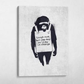 Laugh Now Banksy Street Art