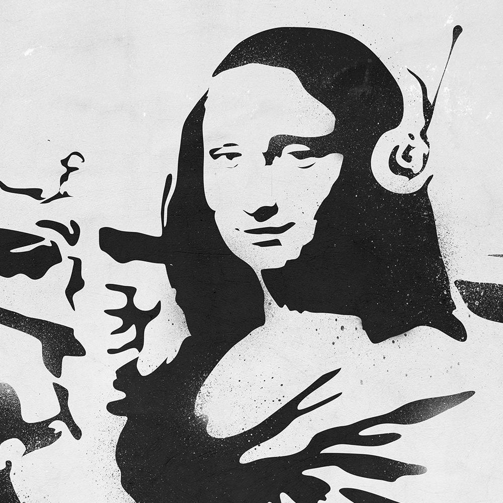 Mona Lisa Banksy Street Art