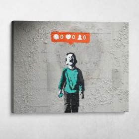 No Followers Banksy Street Art