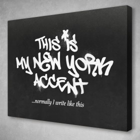 This Is My New York Accent Banksy Street Art