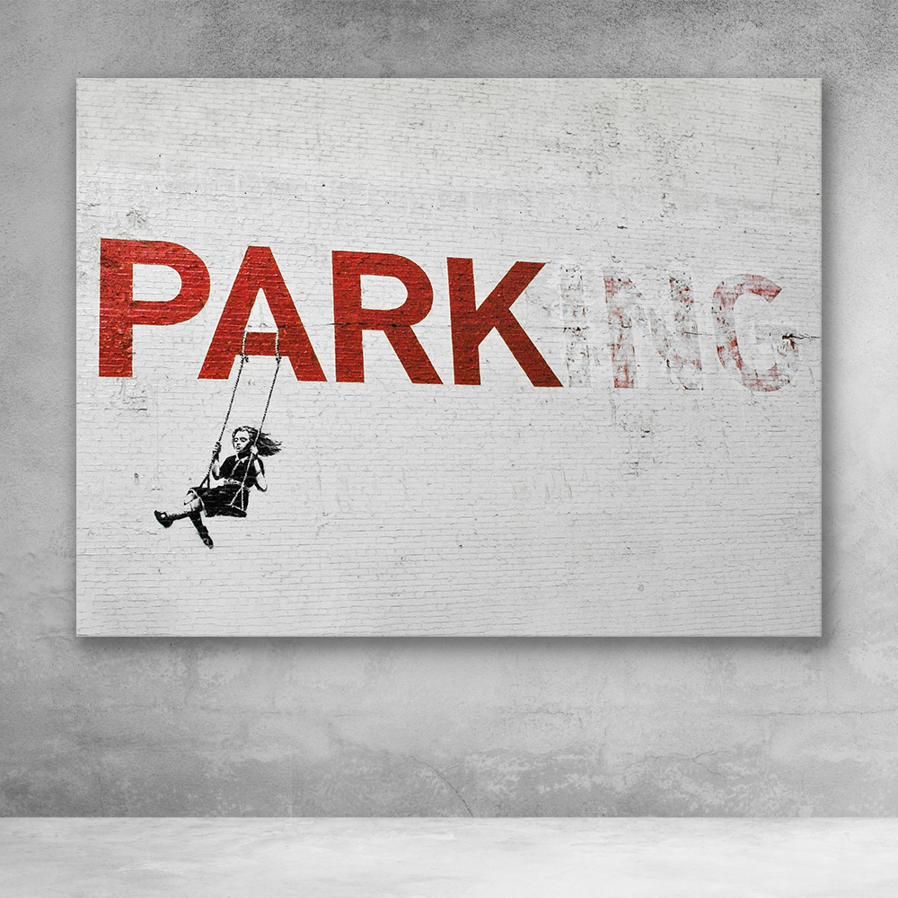 PARKing Banksy Street Art
