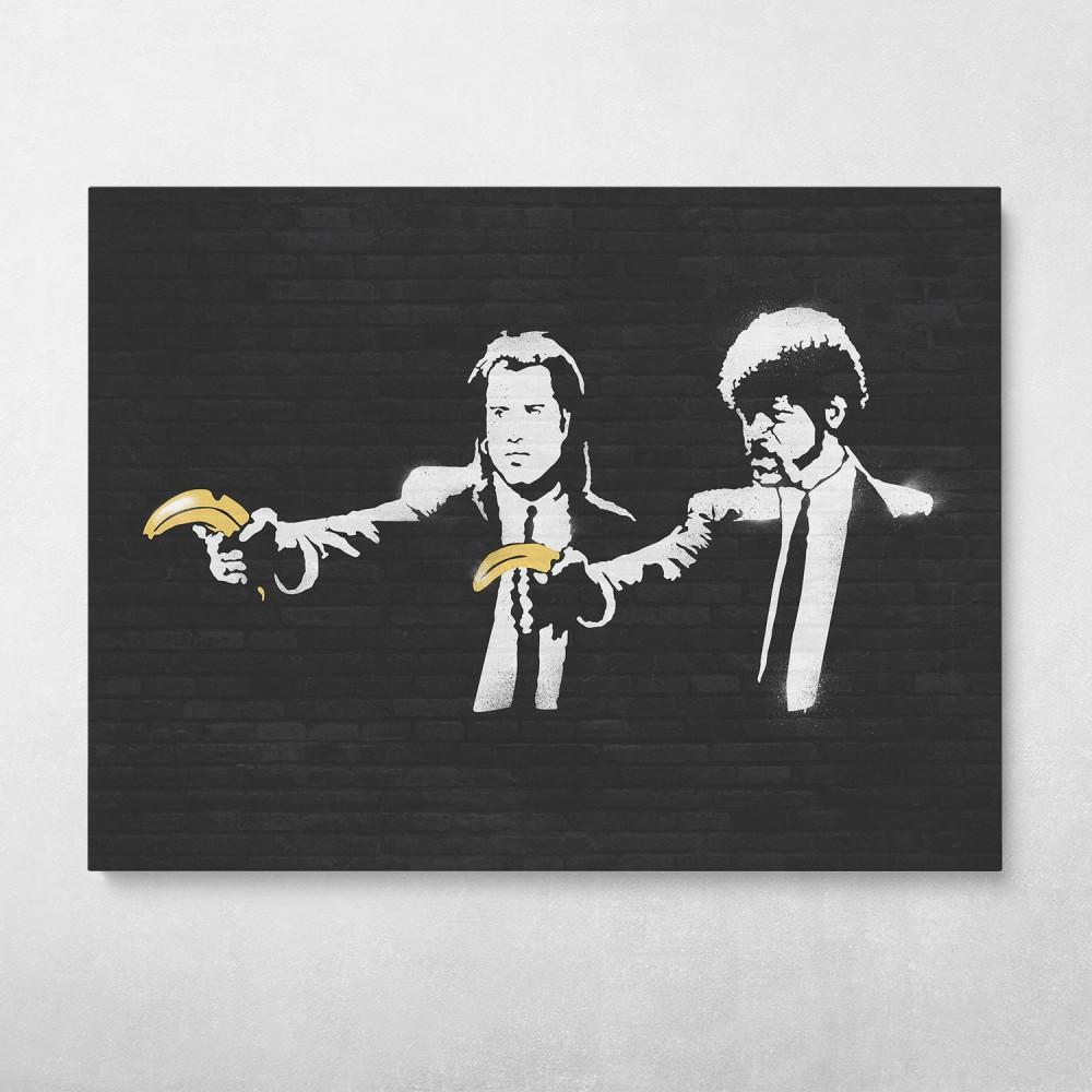Pulp Fiction Banksy Street Art