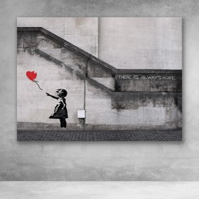 There Is Always Hope Banksy Street Art