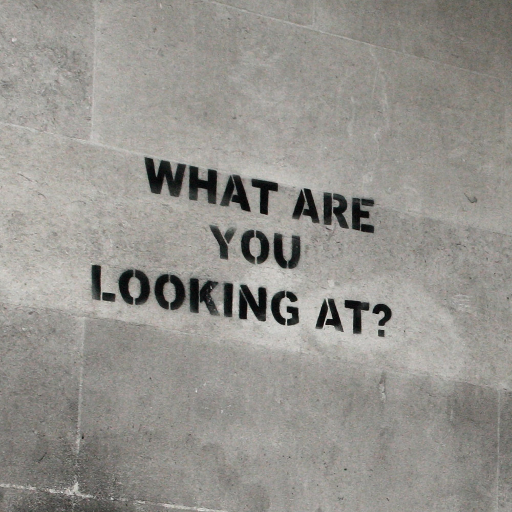 What Are You Looking At Banksy Street Art