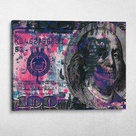 Grunge Ben Franklin
