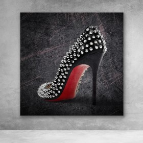 Studded Red Bottoms