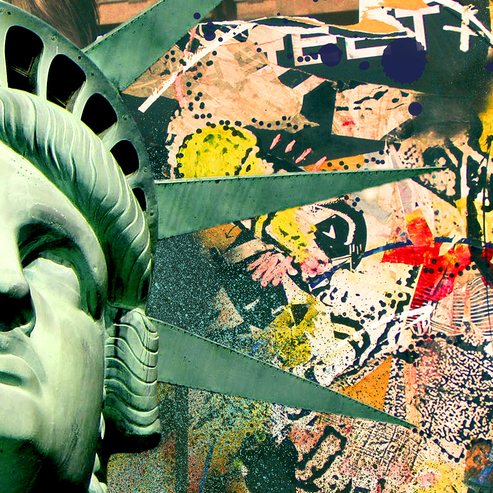 Statue of Liberty Graffiti