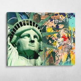 Statue of Liberty Graffiti