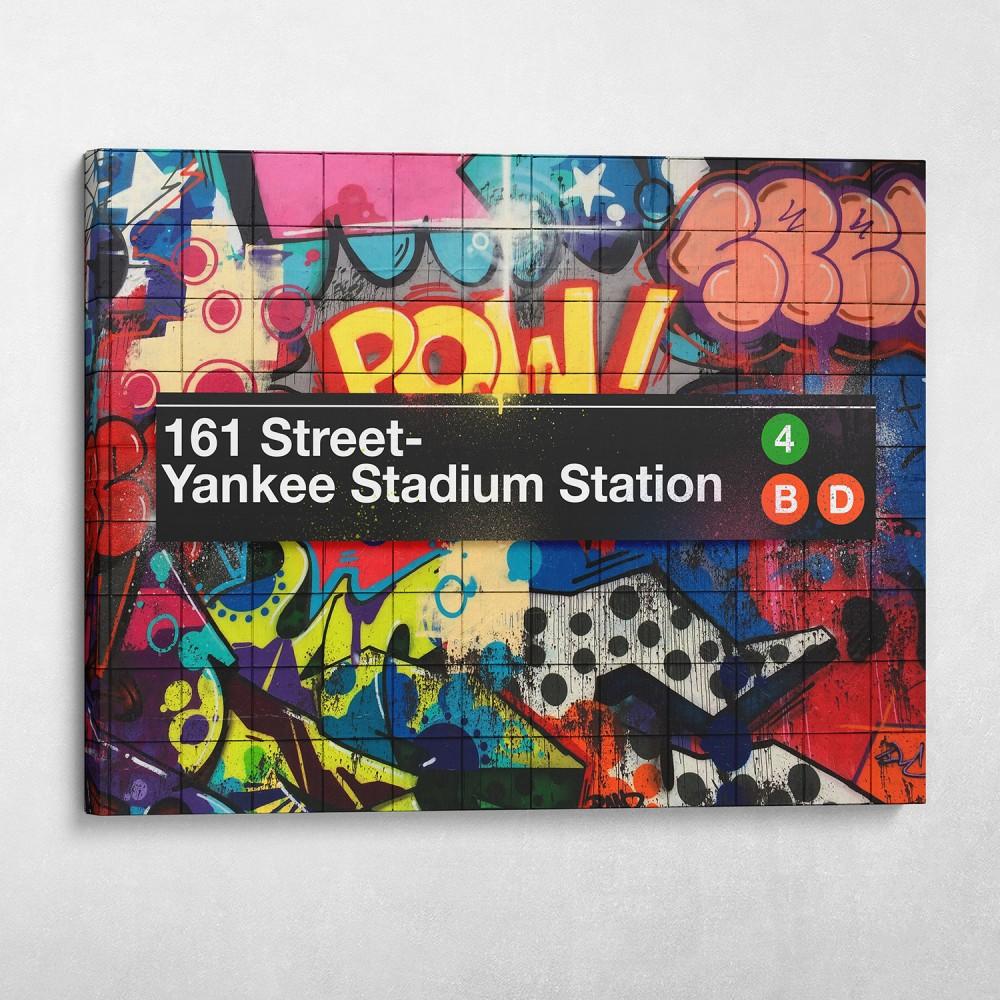 Subway Yankee Stadium Graffiti