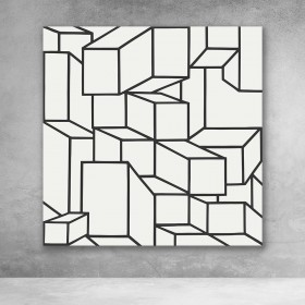 Abstract Minimalist Cubes