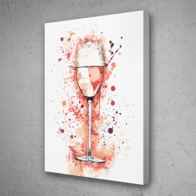 Wine Glass Splatter