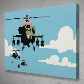 Happy Choppers Banksy Street Art