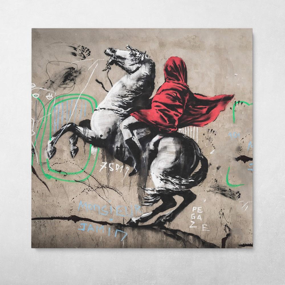 Horse Rider Banksy Street Art