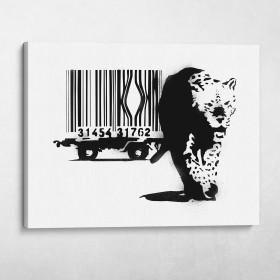 Barcode Banksy Street Art