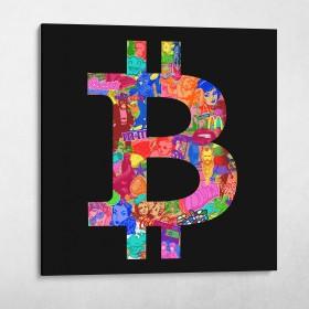 Bitcoin & Dollar Sign Set