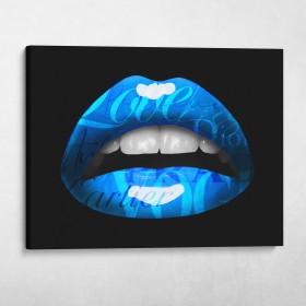 Glam Lips (Blue)