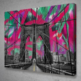 Brooklyn Bridge Graffiti Street Art