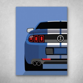 Mustang Shelby GT500 Back