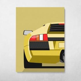 Lamborghini Murciélago Back