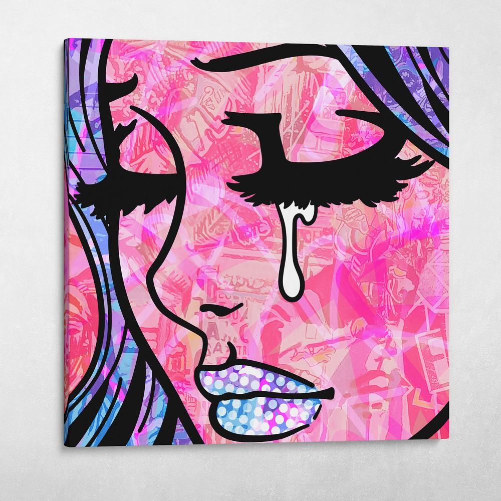 Crying Girl Graffiti #2