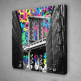 DUMBO Brooklyn Graffiti Pop Art