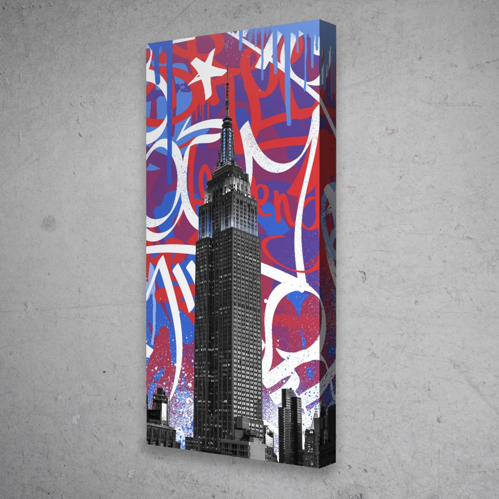 Empire State Of Mind - Red White Blue