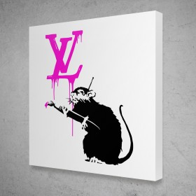 Fashion Rat - Louis Vuitton