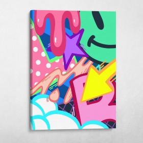 Graffiti Pop Art Set