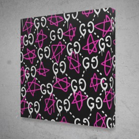 Gucci Ghost Pattern (Pink White)