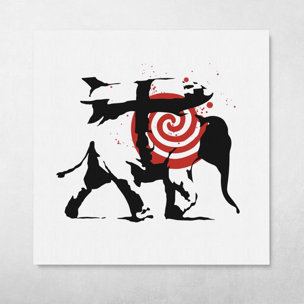 Heavy Weaponry Banksy Street Art