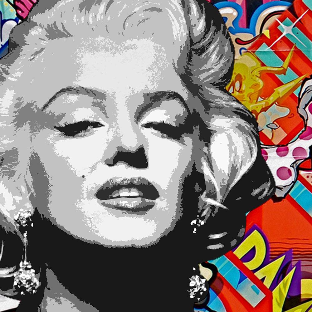 Marilyn Monroe Graffiti