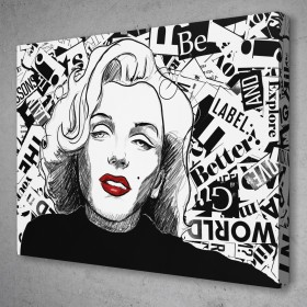 Marilyn Sketch Collage