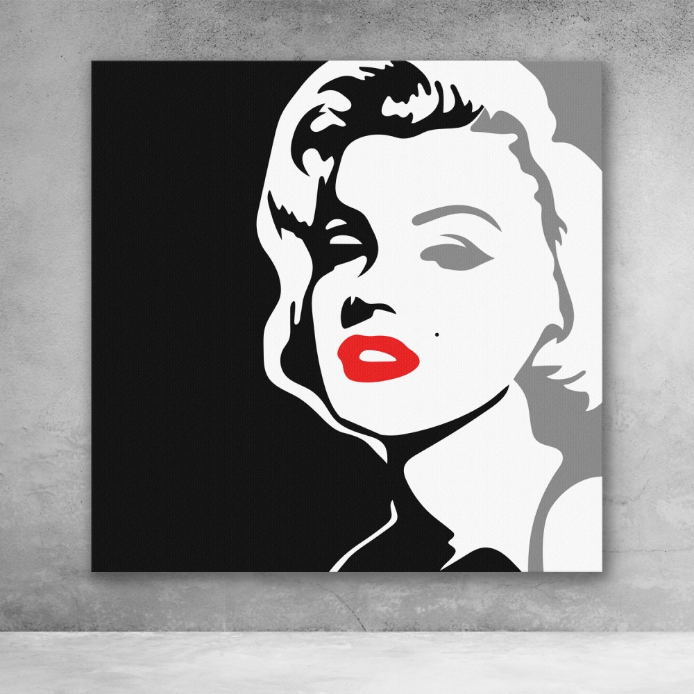 Marilyn Monroe Black and White