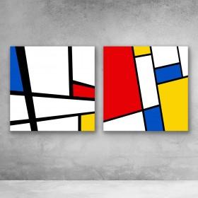 Modern Mondrian Set