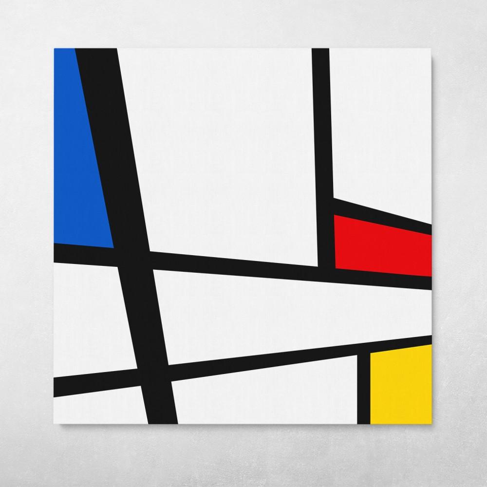 Modern Mondrian Pattern #1