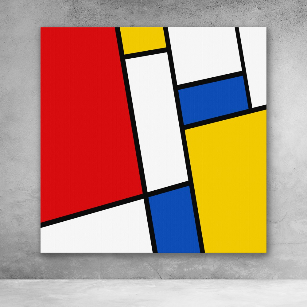 Modern Mondrian Pattern #2