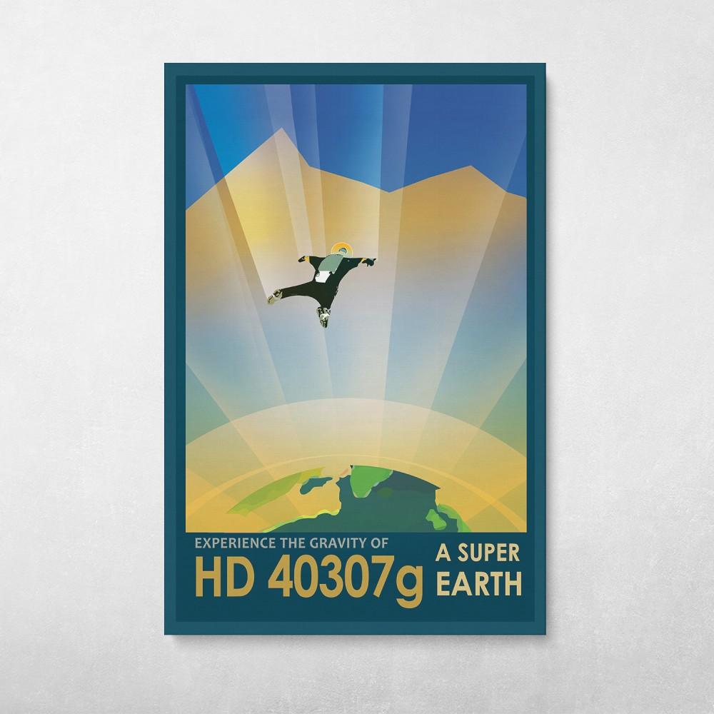 NASA Travel - HD 40307g