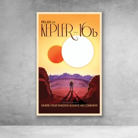 NASA Travel - Kepler 16b