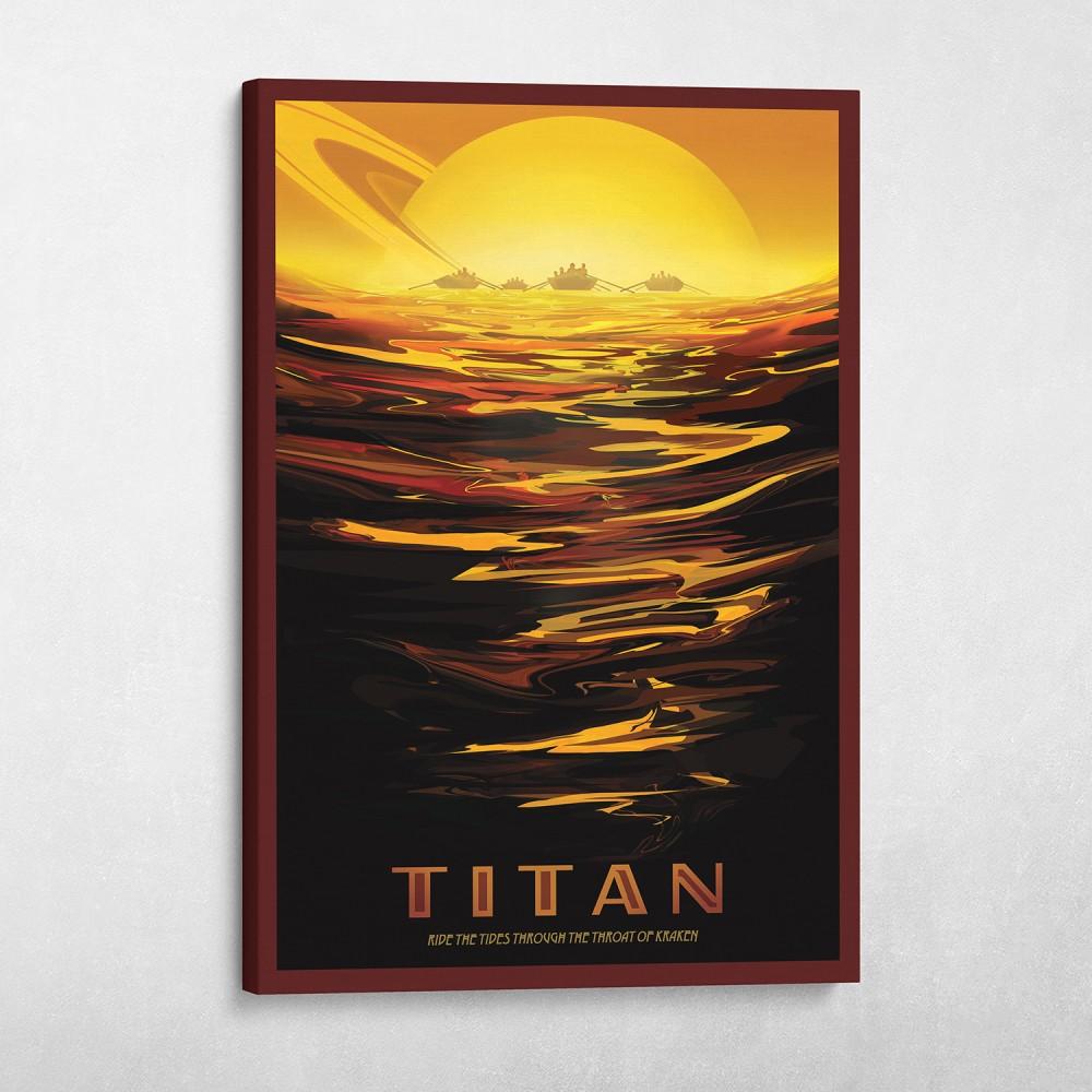 NASA Travel - Titan