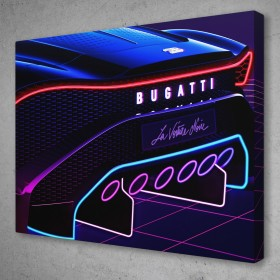 Neon Bugatti