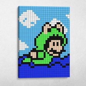 Pixel Frog Suit