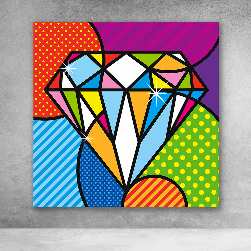 Pop Art Diamond
