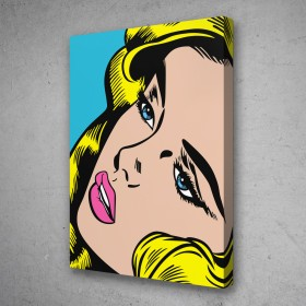 Pop Art Comic Girl