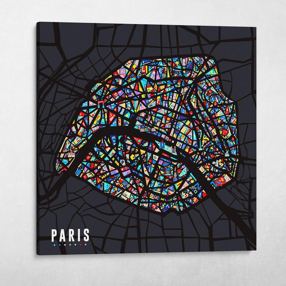 Paris Pop City Map