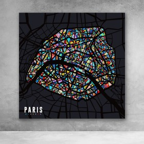 Paris Pop City Map