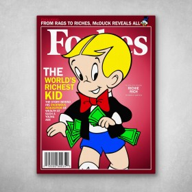 Richie Rich Forbes Cover
