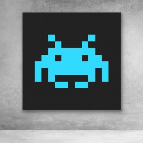 Space Invaders - Blue